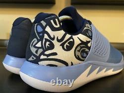 Nike Air Jordan Grind 2 Unc Mens Size 9 North Carolina Tar Heels Ncaa Trainers