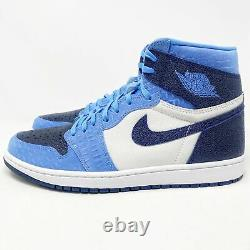 Nike Air Jordan I (1) Pe Unc Sz 13 15 Player Exclusive Pe Promo Sample Tar Heels