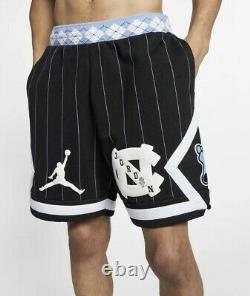 Nike Air Jordan Nrg Unc Carolina Tarheels Fleece Short (cd0133-010) Hommes Sz M