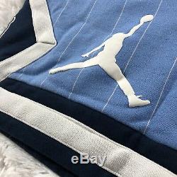 Nike Air Jordan Nrg Unc Caroline Du Nord Tarheels Sz L Toison Shorts Cd0133-448