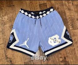 Nike Air Jordan Nrg Unc Caroline Du Nord Tarheels Toison Shorts Cd0133 448 Sz XXL