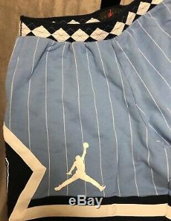 Nike Air Jordan Nrg Unc Caroline Du Nord Tarheels Toison Shorts Cd0133-448 XXL