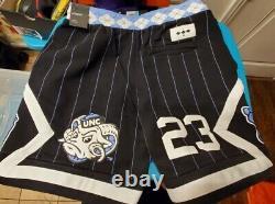 Nike Air Jordan Nrg Unc North Carolina Tarheels Fleece Shorts Cd0133-010 Homme L