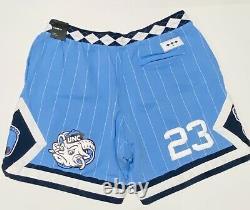 Nike Air Jordan Nrg Unc North Carolina Tarheels Fleece Shorts Cd0133 Medium