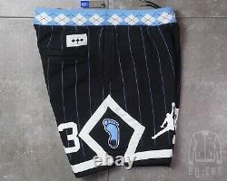 Nike Air Jordan Nrg Unc North Carolina Tarheels Shorts En Polaire Cd0133-010 Large L