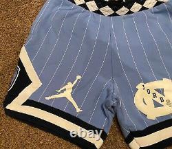 Nike Air Jordan Nrg Unc North Carolina Tarheels Shorts En Polaire Cd0133 448 L Large