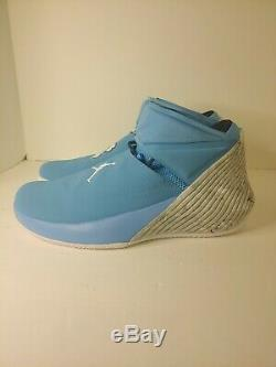 Nike Air Jordan Pourquoi Ne Pas Zer0.1 Université Bleu Unc Tarheels Sz 10 Aa2510-402