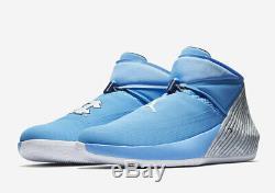 Nike Air Jordan Pourquoi Ne Pas Zer0.1 Université Bleu Unc Tarheels Sz 11 Aa2510-402
