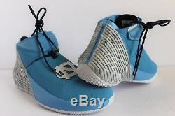 Nike Air Jordan Pourquoi Pas Zer0.1 Université Bleu Unc Tarheels Sz 10.5 Aa2510-402