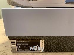 Nike Air Jordan Retro 3 Unc (2020) North Carolina Tar Heels Ct8532-104 Taille 8