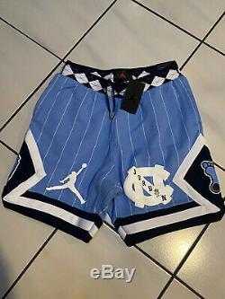 Nike Air Jordan Unc Caroline Du Nord Bleu Tarheels Shorts Toison Cd0133-448 S