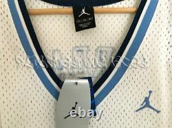 Nike Air Jordan Unc Caroline Du Nord Tar Heels Jersey Ncaa Rare Vintage Nwt 3xl