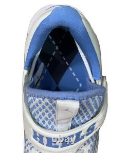 Nike Air Jordan Unc North Carolina Tar Heels Golf Shoes Golf Spikes Taille 9.5