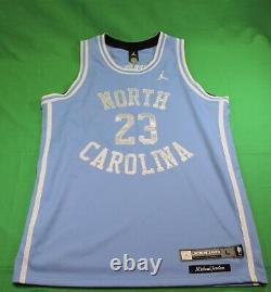 Nike Air Jordan Unc North Carolina Tar Heels Jersey Ncaa Rare Vintage Nwt Large