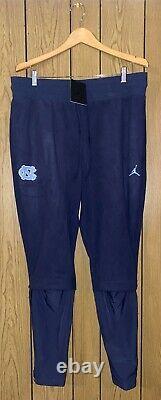 Nike Air Jordan Unc Tar Heels Therma Athletic Pants (caroline Du Nord) Taille XL