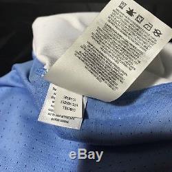 Nike Air Jordan Unc Tar Talons Michael Jordan Jersey Df Bleu Blanc Taille Large L