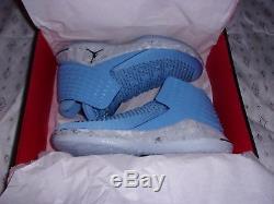Nike Air Jordan XXXII 32 Unc Tarheels Université De Caroline Du Nord Bleu Aa1253-406