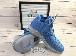 Nike Air Jordan XXXII 32 Unc Tarheels Université Nc Bleu Aa1253-406 Taille 10.5
