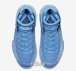 Nike Air Jordan XXXII Sz 10 Unc Tar Talons Université Bleu Aa1253-406