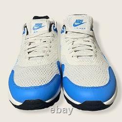 Nike Air Max 1 Chaussures De Golf Bleu Blanc (ci7576-101) Taille Homme 12 Unc Nouveau