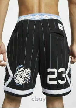 Nike Air Michael Jordan Unc North Carolina Tarheels Flecee Shorts Cd0133-010 XL