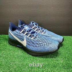 Nike Air Zoom Pegasus 36 Unc Tar Heels Blue White Navy Ci2084-400 Taille Homme 9