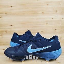 Nike Alpha Huarache Elite 2 Pe Unc Tarheels Métal Baseball Crampons Sz Homme. DIX