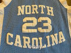 Nike Authentic Michael Jordan #23 Unc North Carolina Tar Heels Jersey 36 Small S