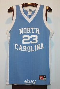 Nike Authentic Michael Jordan Unc Tar Heels Route De Basket-ball Jersey Taille 44