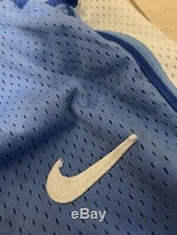 Nike Authentique Vintage Vtg Og Rétro Ncaa Caroline Du Nord Shorts Tar Heels 36 Unc