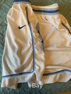 Nike Authentique Vintage Vtg Og Retro Ncaa North Carolina Shorts Unc Tar Heels 38