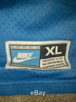 Nike Caroline Du Nord Maillot De Basket Tarheels Bleu # 30 Rasheed Wallace XL Unc