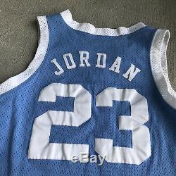 Nike Caroline Du Nord Michael Jordan Jersey Authentique 44 Tar Heels College Vtg Unc