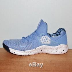 Nike Free Tr8 Unc Tarheels Formation Chaussures Hommes 10 Caroline Du Nord Ar0407-400 Nouveau