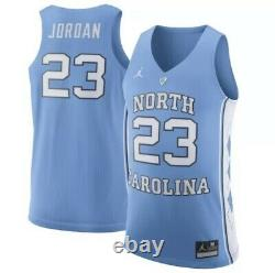 Nike Hommes Jordan Unc Caroline Du Nord Tar Talons #23 Jersey 2xl Marque New Nwt