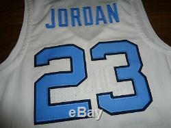 Nike Hommes Michael Jordan Unc Carolina Tar Heels Authentique Jersey Mens Tailles 150 $