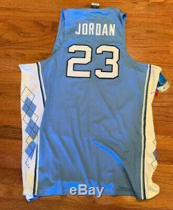 Nike Hommes Michael Jordan Unc Carolina Tar Heels Authentique Jersey XL Nwt 150 $