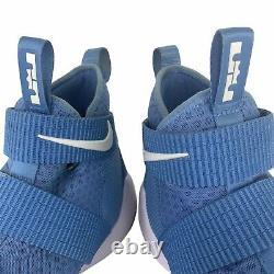 Nike Hommes Sz 13 Lebron Soldier 11 XI Tb Coast Blue Unc Tar Heel Shoes 943155-408