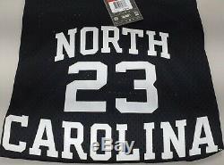 Nike Jordan 23 Unc Tar Heels 82 Jersey 2003 (noir / Blanc / Bleu) Taille L