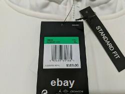 Nike Jordan Half Zip À Manches Longues À Capuche Unc Tarheels Aq8933-100 Sz XL