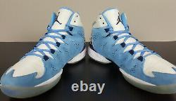 Nike Jordan Melo M10 North Carolina Tarheels Unc Promo Échantillon Rare (taille 9.5)