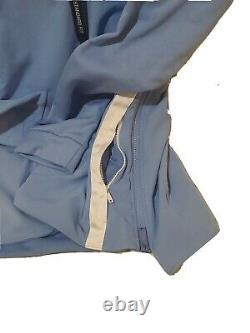 Nike Jordan Unc Caroline Du Nord Tarheels Hommes 1/2 Zip Fleece Hoodie Aq8933 448