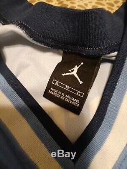 Nike Jordan Unc Caroline Du Nord Vince Carter # 15 XL Basketball Jersey, Tar Heels