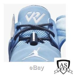 Nike Jordan Westbrook Pourquoi Pas Zéro. 1 Unc Carolina Tarheels Aa2510 402 Taille 8-15
