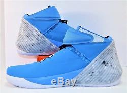 Nike Jordan Westbrook Pourquoi Pas Zéro. 1 Unc Carolina Tarheels Sz 14 Nouveau Aa2510 402