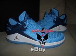 Nike Jordan XXXII 32 Victoire Comme 82 Bleu Unc Aa1256 401 Tarheels En Caroline Du Nord