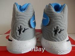 Nike Kyrie 2 ID Unc - Chaussures À Talons Durs En Caroline Du Nord - Bleu