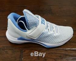 Nike Mens Jordan Trainer 3 Unc Tarheels Taille 10.5 Ar1391 100 Blanc Sans Couvercle