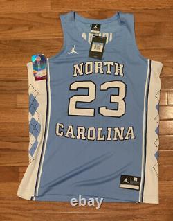 Nike Mens Michael Jordan Unc Carolina Tar Heels Authentic Limited Jersey Medium