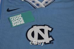 Nike Ncaa Unc - Chaussures À Talons Hauts De La Caroline Du Nord - Shoot Shirt Blanc Bleu